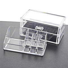 Makeup Storage Clear Cosmetic Organizer Tool Kit
