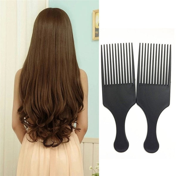 Curly Hair Brush Salon Styling Long Tooth Comb