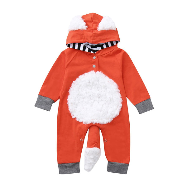 Infant Boys Rompers Autumn Winter Clothes