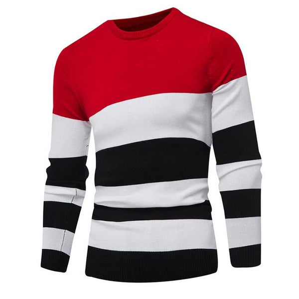 Men's Pullover Slim Jumper Autumn Winter Sweater