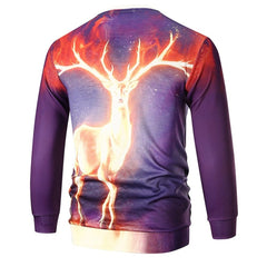 Autumn Winter Fashion Casual Men's Sweatshirt 3D Printed