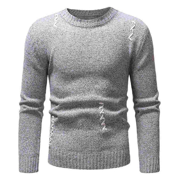 Winter Men Knitting Sweater Slim Fit Top
