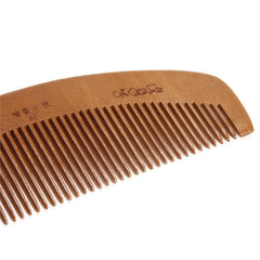 Health Peach Natural Wooden Mahogany Comb