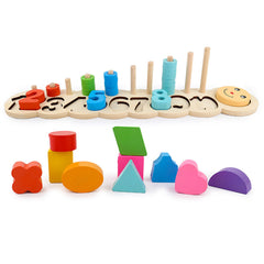 Digital Building Blocks Toys Numbers Matching Educational