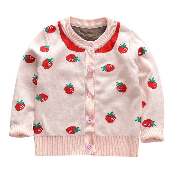 Toddler Baby Girl Cardigan Jackets Winter Coat