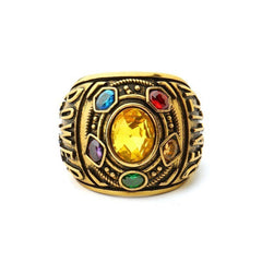 Power Ring Infinity Wars Jewelry Letter Men's