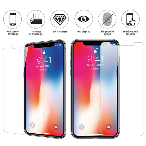 iPhone xs max case x XR X 6 7 8Plus Screen Protector Soft back