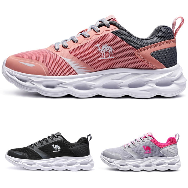 9b2b988f6d10 Breathable Running Shoes Women Comfortable Non Slip Sneaker – Tru Bella