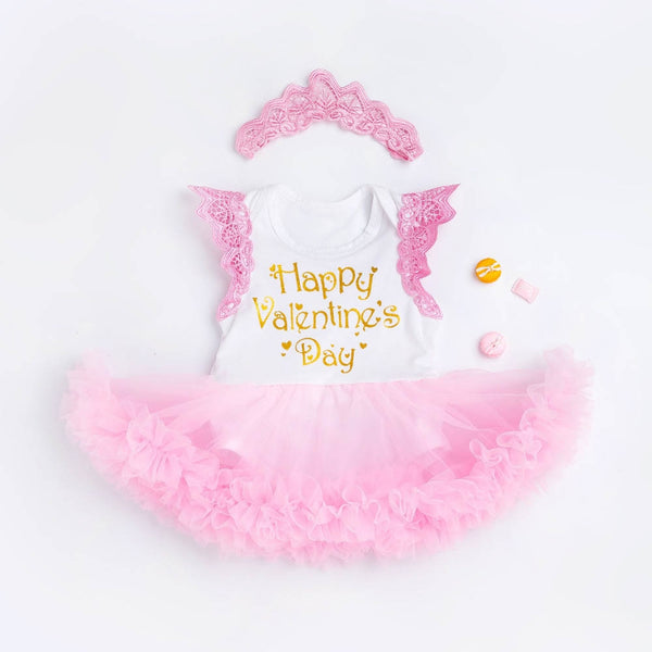 Toddler Girls Valentine's Day Bubble Dress