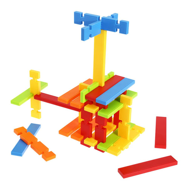 50pcs Children Colorful Building Block Construction Toys