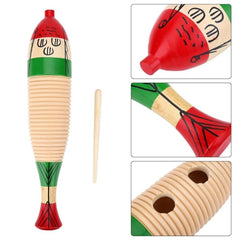 Wooden Knocker Percussion Crow Toys for Kids Musical Instruments