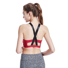 Women Fitness Backless Sports Running bra Top