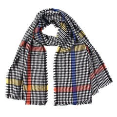 Winter Scarf For Women Designer Shawl Cashmere Plaid