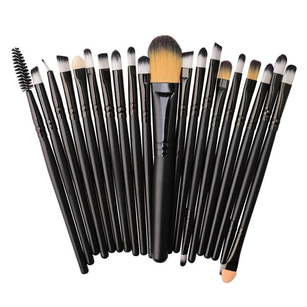 20pcs pencil Makeup Brushes Set Cosmetic Tool
