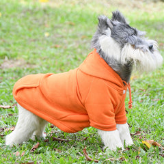 Dog Clothes Hoodie Warm Fleece Coat Apparel  polyester Sweatshirt