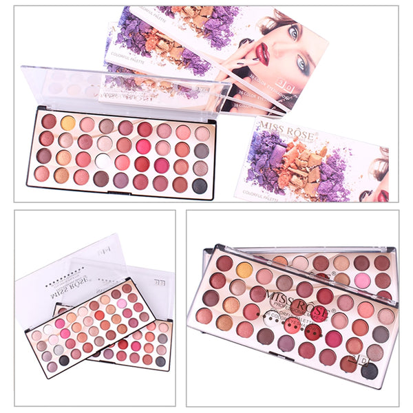 36 Colors Charming Eye Shadow Palette Long Lasting Matte