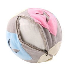 Dog Toys Soft Fleece Sniffing Educational Play Balls For Outdoor
