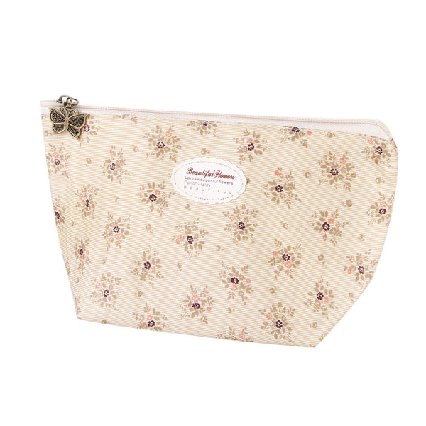 Sweety Floral Makeup And Cases Women Cosmetic Bag