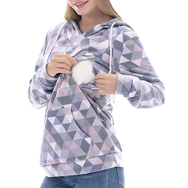 Nursing Maternity Long Sleeves Tops Women