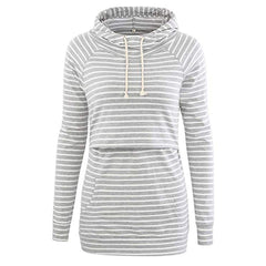 Women Pregnancy Clothes Maternity Striped Tops