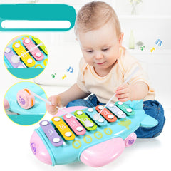 Education Toy Baby Kids Colorful Eight-tone Piano