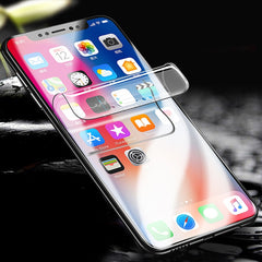 2PCS For iphone X Soft TPU Screen Protector For iphone 6 7 8 Plus XS MAX XR 10 X