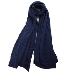 Men Medieval Scarf Brown Black Blue Wrap Shoulder Cowl