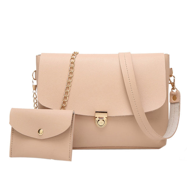 Women PU leather shoulder bag small crossover
