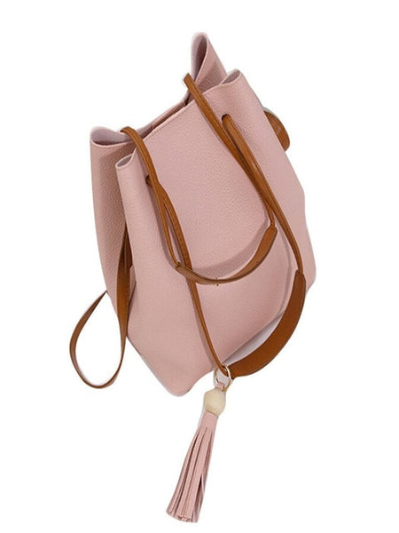 Women's Real Split Leather Shoulder Bag