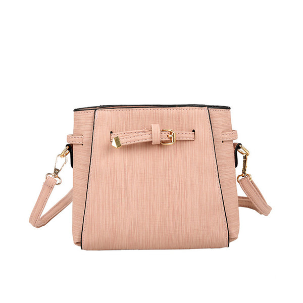 Single shoulder bag women's leather belt