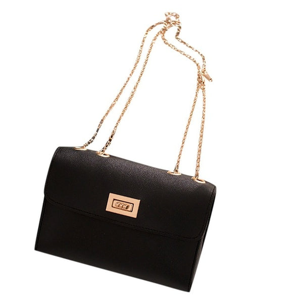 Casual Small oily leather bag shoulder