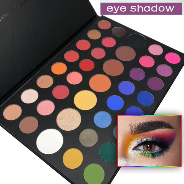Christmas Color Eye Shadow Palette Natura Beauty Make Up