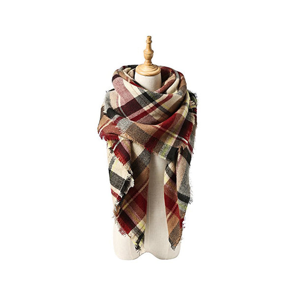 Stylish Warm Blanket Scarf Gorgeous Wrap