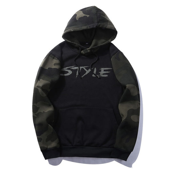 Men Thick Hoodies Style Cotton Russia Size Solid Pullover