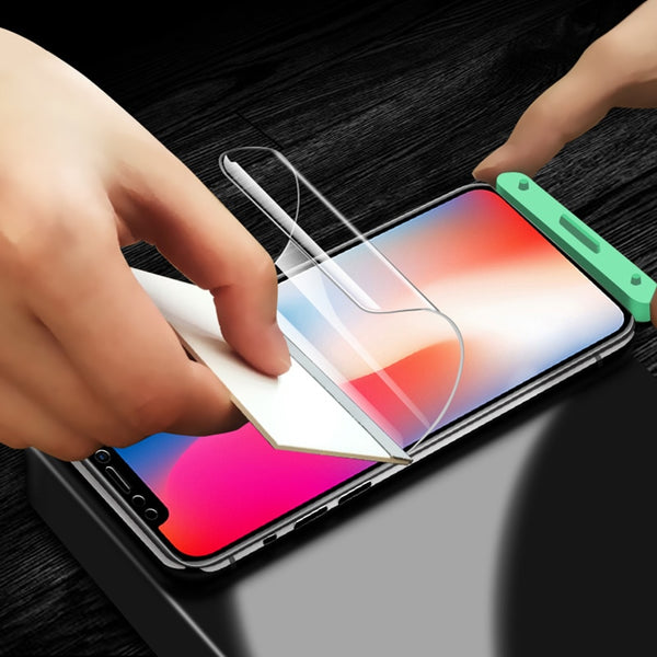 Soft Front Screen Protector For iPhone7 plus 6 6S 6P 6S Plus glass