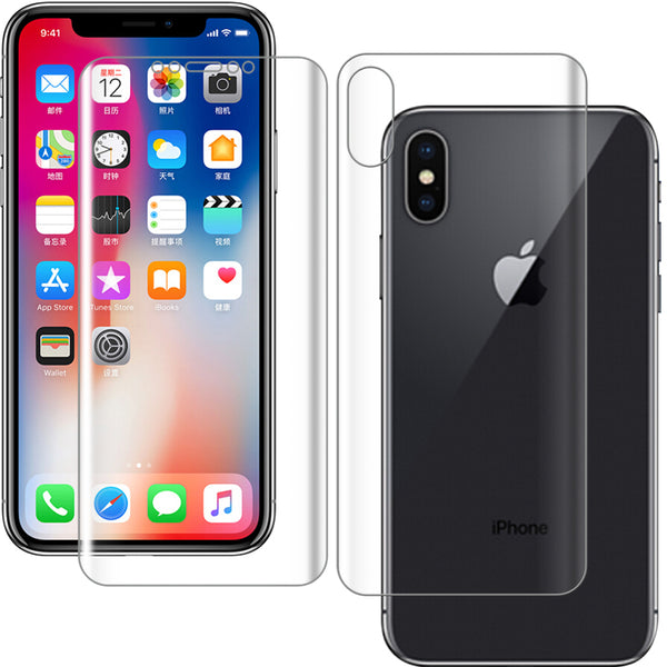 Back Screen Protector  Full Cover Protective IPhone XS