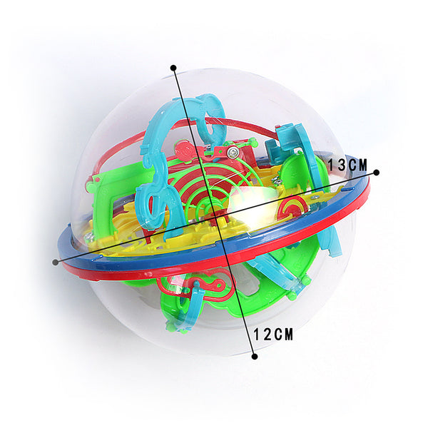 Intellect Ball Rolling Puzzle Brain Educational Toys