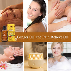 Natural Plant Therapy Lymphatic Ginger Massage Oil