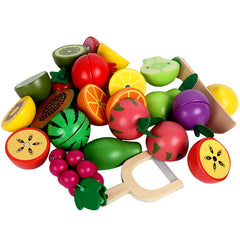 12pcs/16pcs Cutting Fruit Vegetable Food Educational Toys