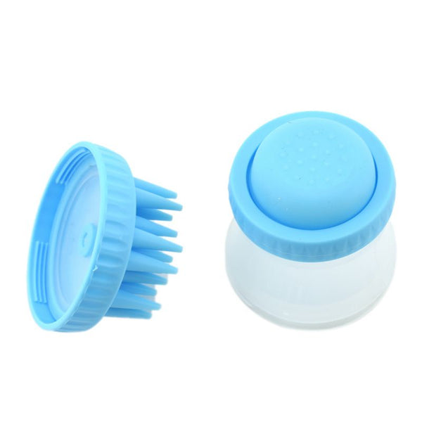Pets Dogs Cats Bathing Massage Brush Combs Rubber Glove