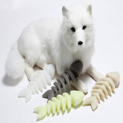 Dog toys  Dental Teeth Gums Bite-Resistant Cleaning Stick Tools