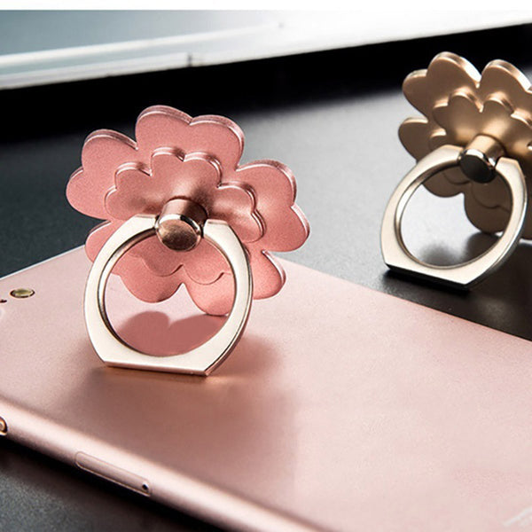 2 Pcs Metal Ring Stand Universal Applied Mobile Phone Stand