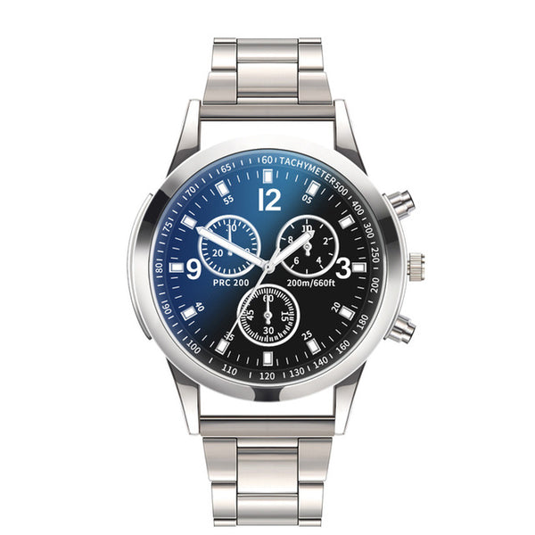 Men's Casual Sport Quartz Top Brand Luxury  Stainless Steel  Military Watch