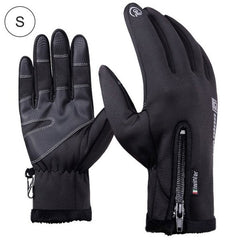 Bike Glove Leather Male Touch Screen