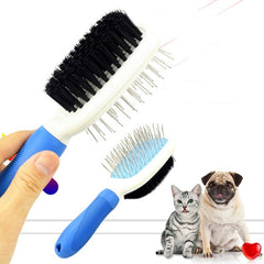 Cats Comb Brush Stainless Steel Nylon Grooming