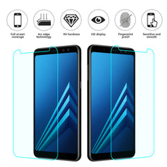 Premium Tempered Glass For Samsung Galaxy A6 A8 A8 Plus