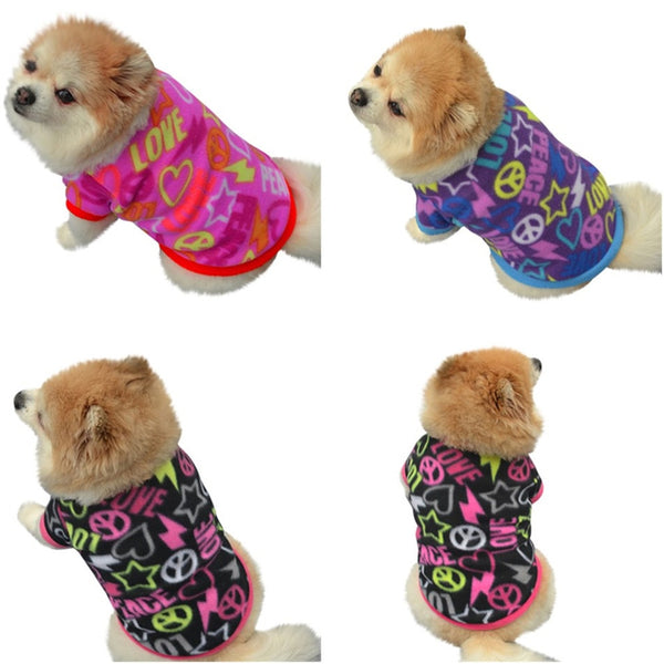 Fashion Pet Dog Cat Villus Warm Clothes Apparel