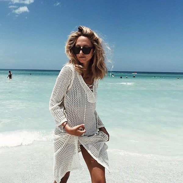 Women Beach Tunic Swimsuits Bikini cover up
