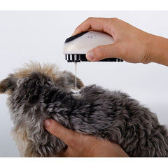 Dog Grooming Brush For Short Long Hair Soft Rubber Soap Shampoo