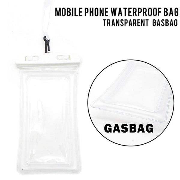 Floating  Case Waterproof Pouch Cell Phone Dry Bag For iPhone